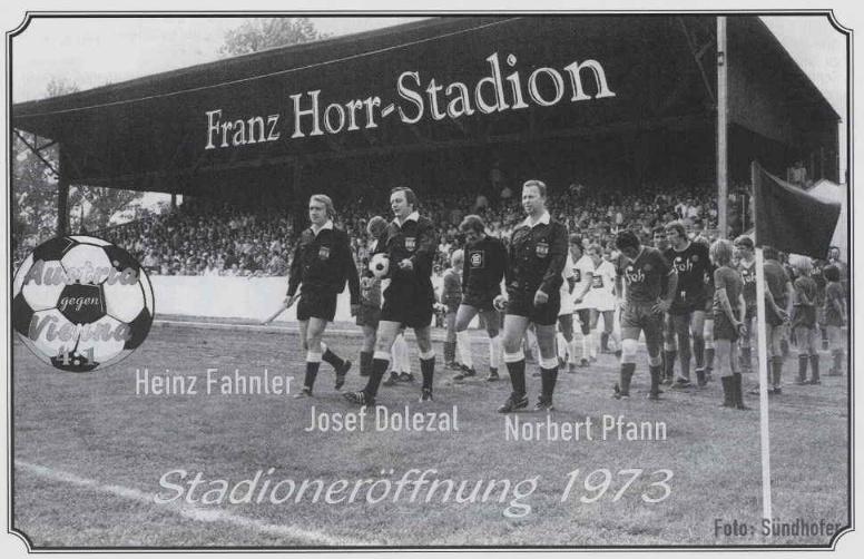 Stadioneröffnung 1973