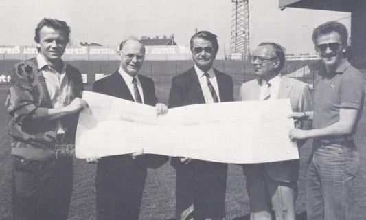 Franz Horr Stadion 1986