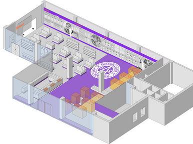 GET VIOLETT MEGASTORE - Der neue violette Einkauftempel