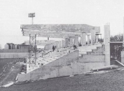 Nordtribüne Frühjahr 1982